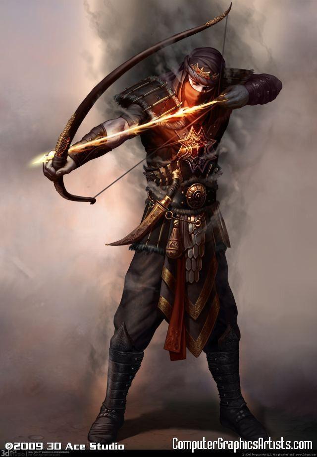Archer of Fire -                                                                                                                                                                                 Mais