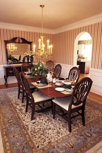 dining room walls with a chair rail google search. beautiful ideas. Home Design Ideas