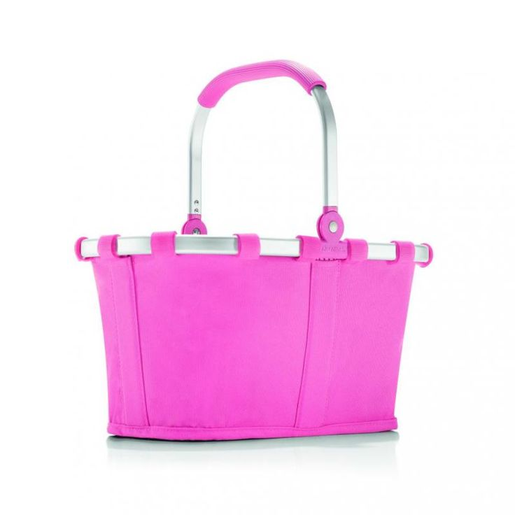 Koszyk carrybag XS pink - DECO Salon. Excellent choice for a gift for a child. Basket will please young shoppers. #reisenthel #forkids #dziendziecka #giftidea #forhome #shopping