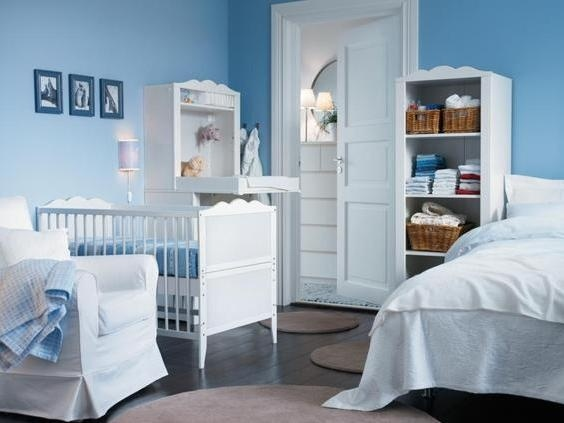 99 best babykamer ikea images on pinterest | baby room, nursery