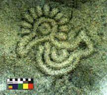 arte rupestre Colombia Isla Gorgona Más