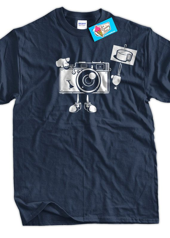 Photography Shirt Say Cheese Digital Film Camera by IceCreamTees, $14.99