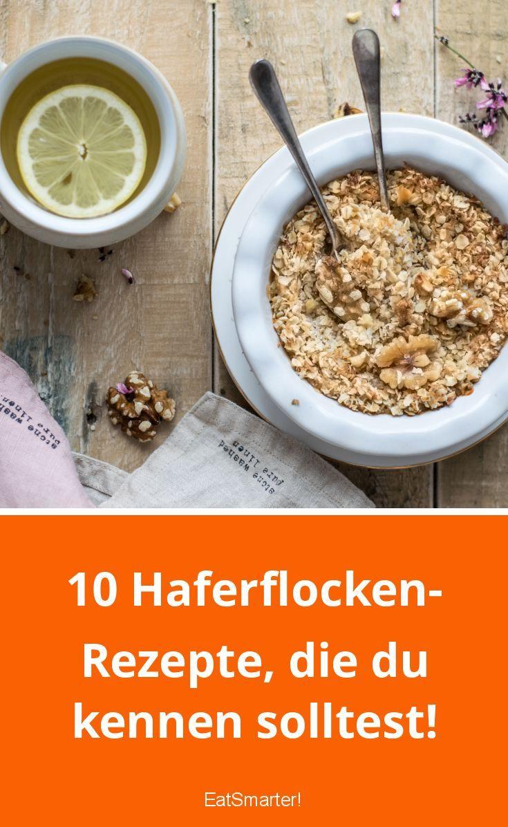 10 Haferflockenrezepte, die Sie kennen sollten! | eatsmarter.de #gesundheit #ge …   – Gesundheit