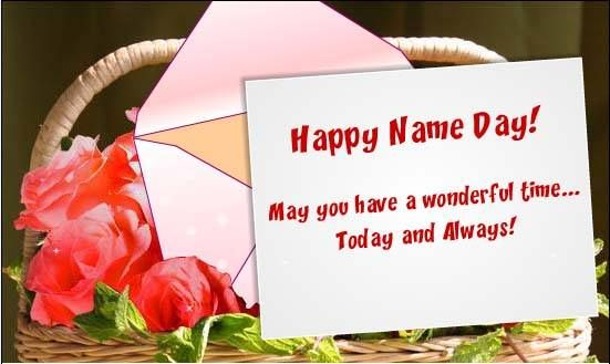 Happy Name Day...