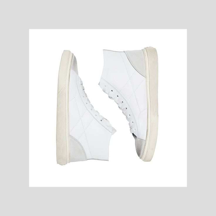 Sophisticated tones on the #HOGAN #AW1718 #H340 High Top #sneakers #HoganSneakers