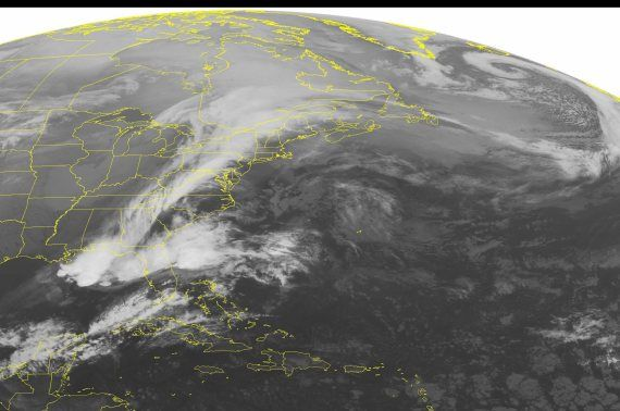 Its bad out there   Keep safe  Canuks  especially the Hydro men  This NOAA satellite image taken March 25, 2016 shows an area of low pressure over southern Ontario.!  Hydro One's online outage map shows about 47,000 customers without power. Freezing rain warnings were issued for parts of Quebec and Atlantic Canada tracked east.
