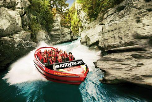 Shotover Jet tours - New Zealand