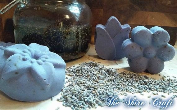 Lavender Soap  Natural Handcrafted Soap by TheShireCraft on Etsy