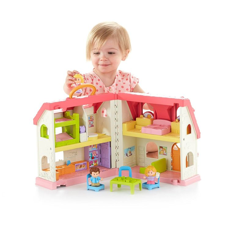 Fisher-Price Little People Surprise   Sounds Home Playset Welcome home – open and close the front entryway! Children find more than 50 sounds, tunes and expressions! Push on the wake up timer to flip Emma ideal out of bed and hear fun sounds! Open the stove and fridge entryways for lights and expressions! Lift the latrine situate for flushing and other senseless sounds! [TAGS: Fisher-Price Little People Surprise & Sounds Home Playset Best Offer On sale. Best Fisher-Price Little People...