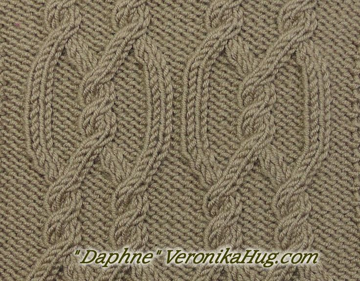 Stricken - Zopfmuster Daphne - Veronika Hug