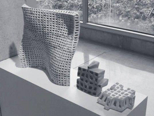 PolyBricks Cornell, PolyBricks architecture, 3D-Printed bricks, 3D printing, 3D printed building components, standardized building component...