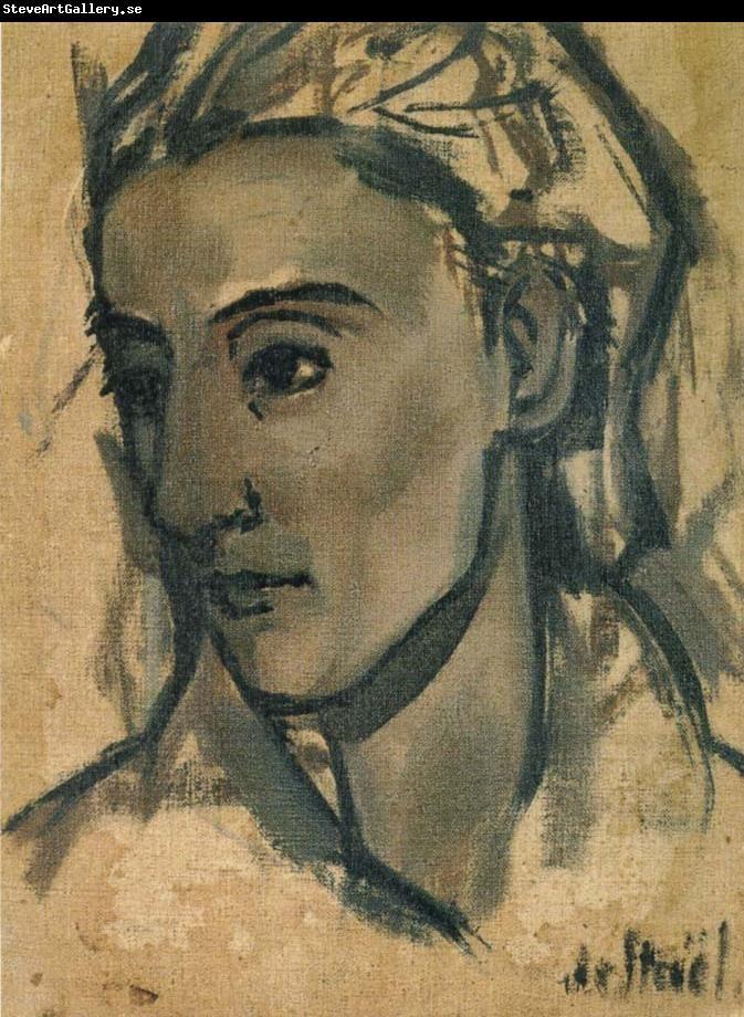 Nicolas de Stael The Portrait of Olek Teslar