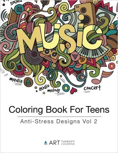 teens will love this adult coloring book made especially for teens coloring book for teens