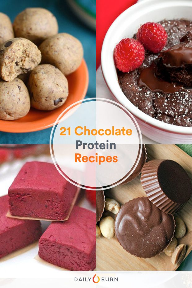 21 Protein Powder Recipes for Chocolate Lovers