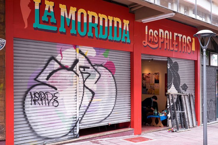 Great #mural for La Mordida Sign Painting on Behance