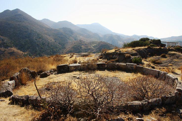Polyrrinia. Old Grave. Ancient. Crete. Greece.  Photo: http://se.pinterest.com/berggren_f