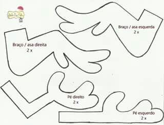 GALINHA PINTADINHA ROSA -MOLDE 5