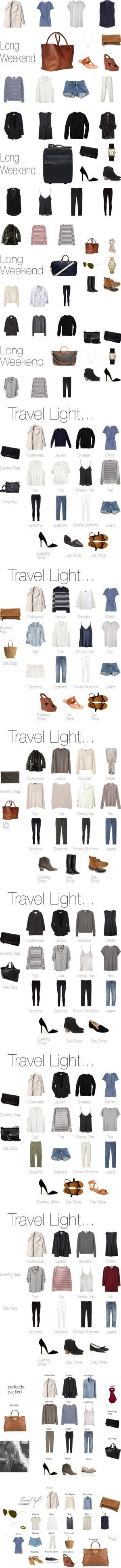 """Packing Light"" by keelyhenesey ❤ liked on Polyvore"