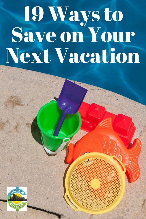 Save money on vacation travel