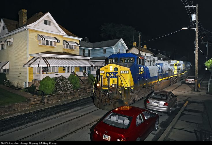 RailPictures.Net Photo: CSXT 249 CSX Transportation (CSXT) GE AC4400CW at West Brownsville, Pennsylvania by Gary Knapp