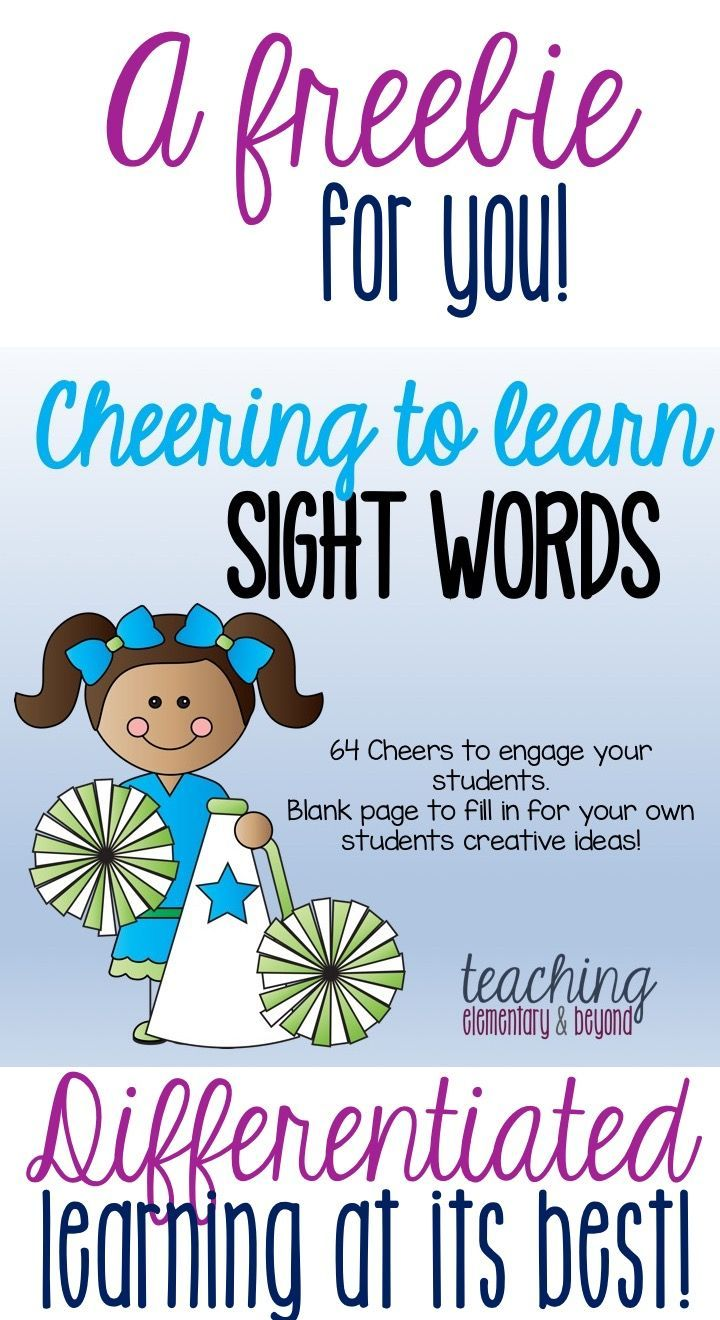 63 best Sight Words images on Pinterest | Word work, Literacy ...