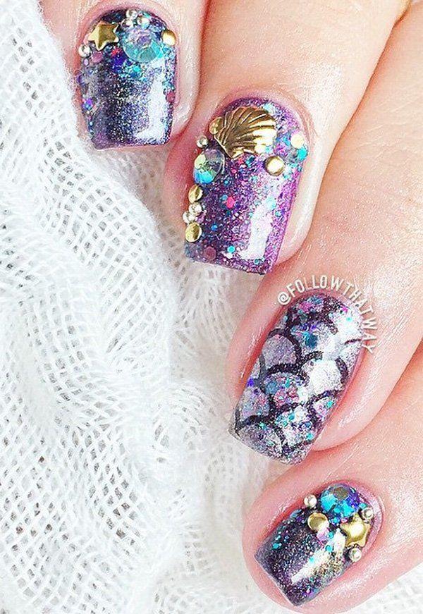 Best 25+ Ocean nail art ideas on Pinterest | Beach nail ...