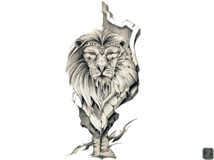 Line Drawing Lion Head : Tiger head by degecorner on deviantart