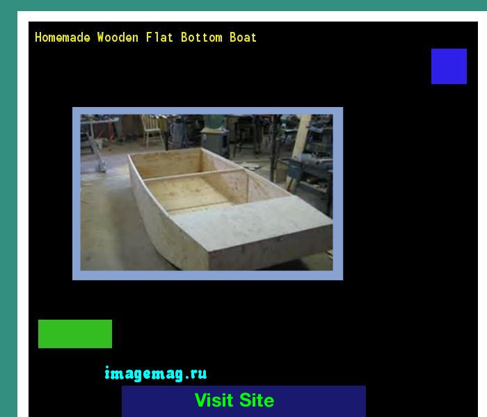 Homemade Wooden Flat Bottom Boat 141323 - The Best Image Search