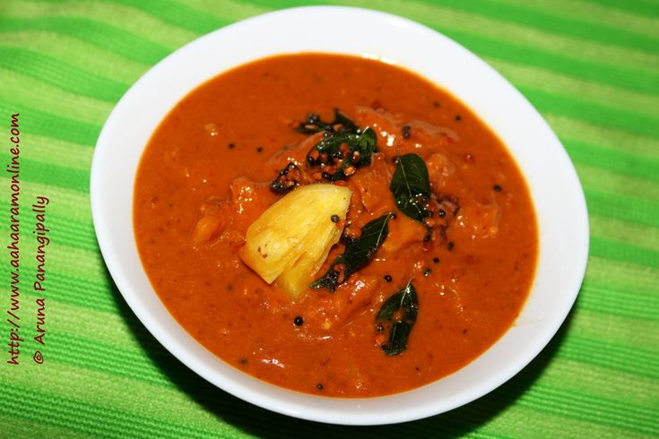 Pineapple Menaskai is this wonderful spicy, tangy, sweet Pineapple Curry from Mangalore. This spicy, tangy, sweet curry tastes great with steamed rice.