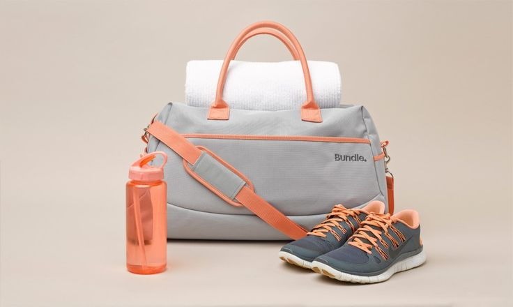 Bundle 'Sweet Peach' Overnight Bag.  It's super strong and very versatile.