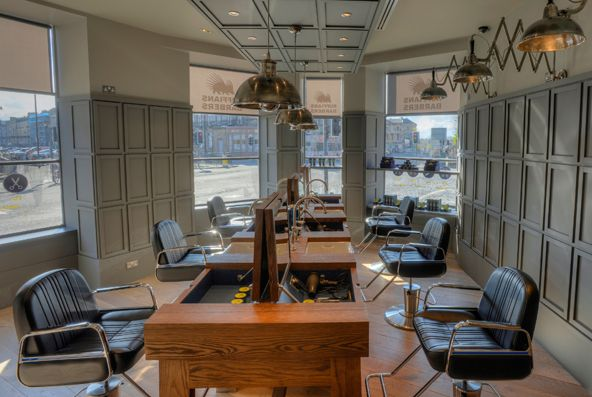 28 best images about barber shop ideas on pinterest for Furniture queensferry