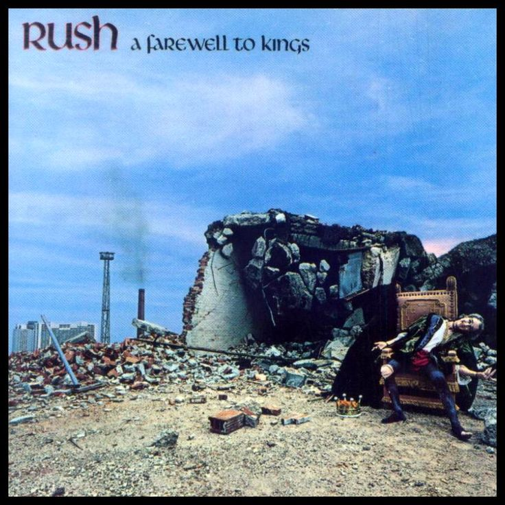 Rush - A Farewell To Kings.