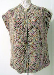 Melody Johnson: Sleeveless Jacket for Melanie