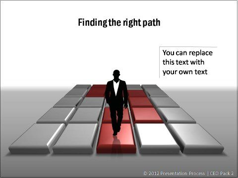Path Through PowerPoint Obstacles from CEO Pack 2