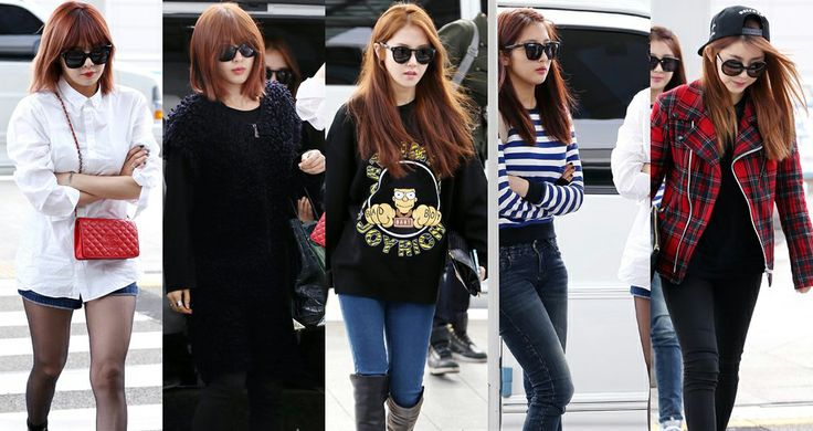 4minute | airport fashion