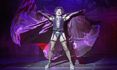 The Rocky Horror Show. Vin bought me tickets for my 21st birthday. Our first play together.
