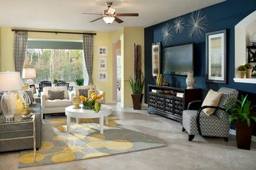 41 Best Images About Gray And Yellow Living Room On