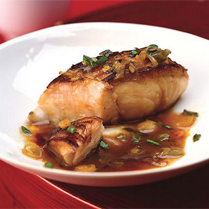 Soy-Marinated Fish Recipe