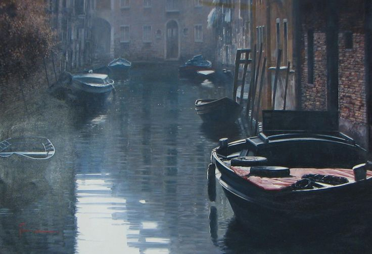 RAFFAELE FIORE ARTIST | Originals Paintings of Venice by Fiore