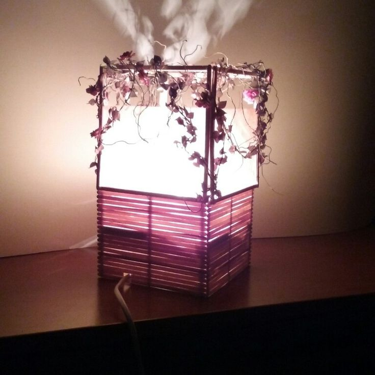 Lampa  frumoasa din padurea adormita.