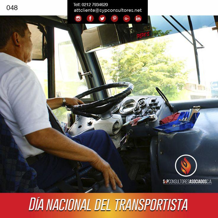 """#23Nov #Efemérides """"Día nacional del transportista"""" #TalDiaComoHoy el difunto #presidente #Chavez decreto el #dia #Nacional del #transportista en el año 2003. En #SyP queremos felicitar a todos los transportistas, por esa incansable labor, por esa tenacidad de aguantar tantas horas frente a un volante, y por llevar la carga con seguridad a su destino. http://www.sypconsultores.net/ #SyP Cada vez más cerca de ti !!! Síguenos #instagram https://goo.gl/MGLyjp"""