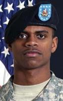Pvt. 1st Class William B. Dawson. 17th Combat Sustainment Support Battalion, 3rd Maneuver Enhancement Brigade of Joint Base Elmendorf-Richardson, Alaska. PFC Dawson was 20 years old and from Tunica, Mississippi. He died September 24, 2010 when attacked with an IED near Bagram Airfield, Afghanistan.