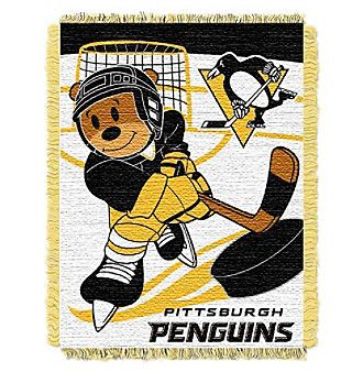NHL® Pittsburgh Penguins Baby Jacquard Score Throw