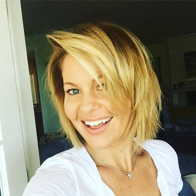 Candace Cameron Bure Sept 2016 new haircut. I LUV this!!!! ❤️