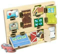 Magnetic door puzzle toy  sc 1 st  Pinterest & 63 best baby beethoven discovery kit toys images on Pinterest ...