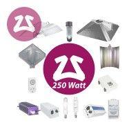 250 Watt Beleuchtungs-Set