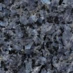 Solieque 4 in. x 4 in. Natural Granite Vanity Top Sample in Blue Pearl
