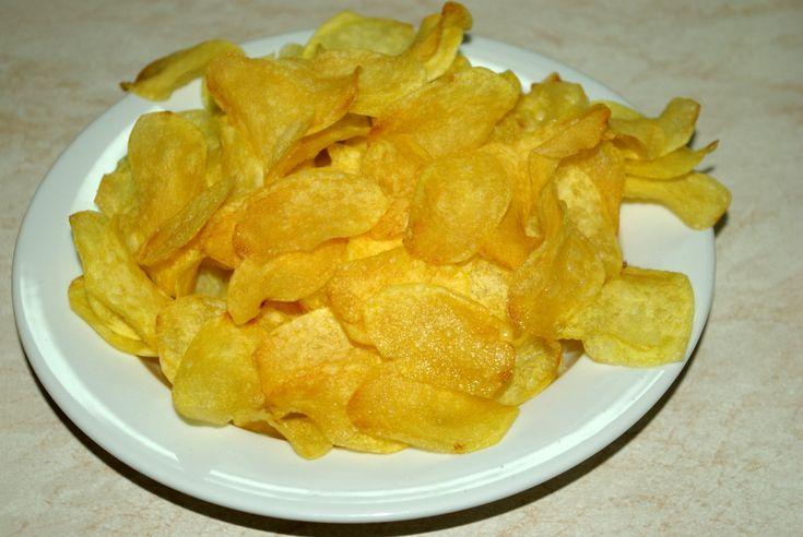 Domácí chipsy (brambůrky)
