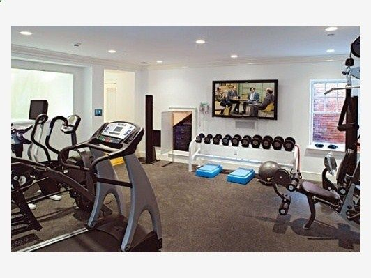 Home Gym Designs - Home and Garden Design Ideas ... Guess I better include a home gym in my dream home!