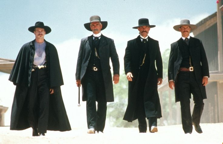 """Evidently Mr. Ringo's an educated man. Now I really hate him."" I could watch Tombstone over and over again.."